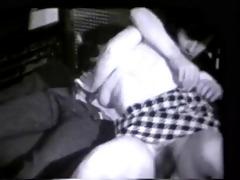 vintage: 60s schoolgirl and her boyfriend caught