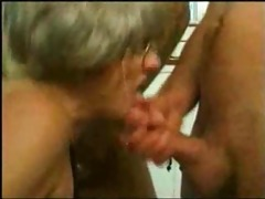 grand mom trys gangbang with several juvenile guys