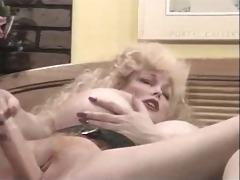 busty blonde vintage