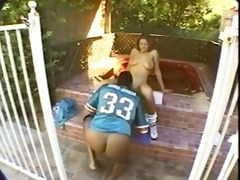 tye the pool girl acquires fucked right into an