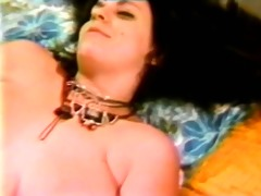 two retro girl4girl with big dildo