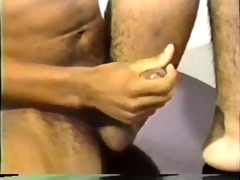 retro darksome hunk receives a nice load - the