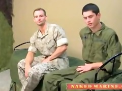 a marine and army guy fuck