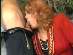 candy b vintage shemale sucks pecker and bonks