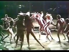 oh calcutta cast finale (70s softcore musical)