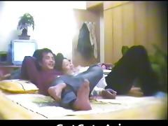 chinese couple spy web camera oriental amateur
