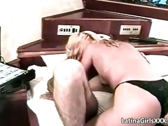 cute blond latina hoe gets fucked hard part4