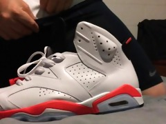 roommates jordan retro 8 infrared