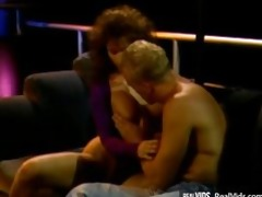 unfathomable penetration in hairy vintage pussy