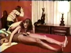 youthful beauties vs black dong - vintage