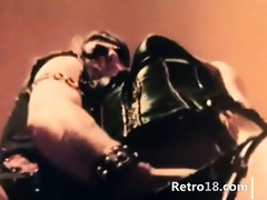 sweet blowjob and hardcore retro banging