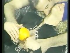 perverted couple food tease