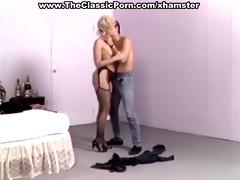 blonde begging for spunk explosion
