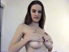 non-professional big titties sex