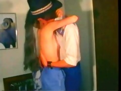 vintage: diamond movie scene pony tail
