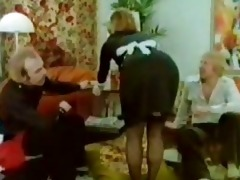 classic blond maid fuckfest