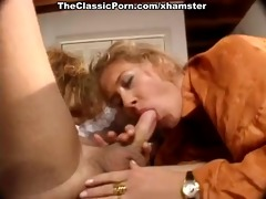 suck and fuck retro movie scene with stud and