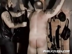 homosexual bear spanking and bondage
