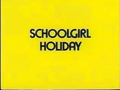 a schoolgirls holiday