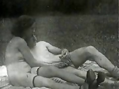 vintage large natural titts