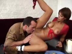 yasmine waitress fucking in the restaurant.