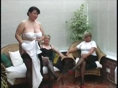 vintage stripping from aged village ladies