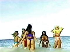 tetonas. fantasias en la playa