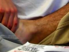fraternity feet rituals - scene 1
