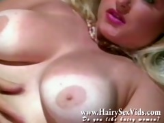 blonde natural twat vintage solo