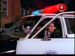 hawt cop bitch with indecent feet groans and