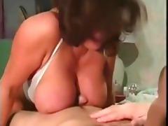 breasty nurse in classic clip
