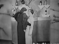 authentic vintage porn 1930s - ffm threesome
