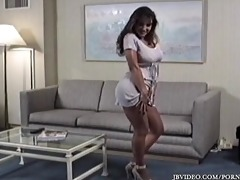 vintage lisa ann teasing with her legs and feet