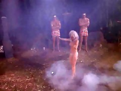 pat barrington undressed in fuckfest of the dead