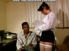 anal sex with facial in 80s porn