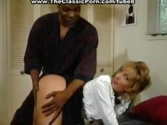 blonde maid booty screwed with black cock