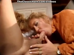 suck and fuck retro video with man and two gals