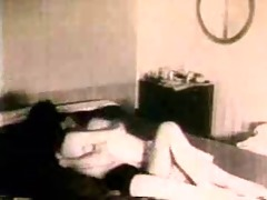 vintage pair fuck at home - part 1