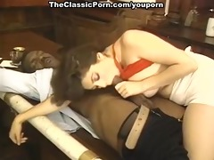 darksome piston oral-service and tit fuck