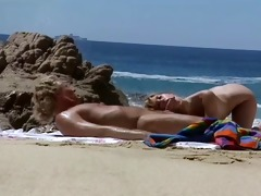 beach sex scene from retro episode xxx