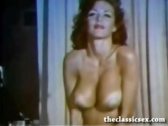 breasty vintage beauty with amazing tits