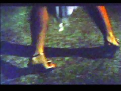 hawt impromptu strip in alpine club (1983 vintage