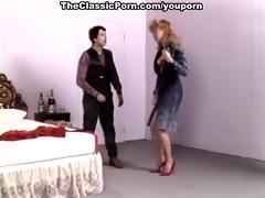 retro wife in high heels wild fuck