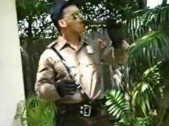 sexy smoking cop ranger solo
