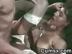 ghetto doxy with large boobs screwed and jizz flow