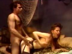 seductive classic pornstar christine
