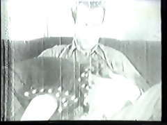 vintage clip of southern belle with big tits