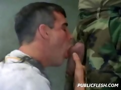 homosexual retro military discipline and obedience