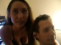 horny non-professional sex orgy