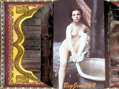 antique nudes -- westward, ho